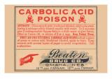 Carbolic Acid Posters
