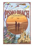 Pismo Beach, California Views Prints by  Lantern Press