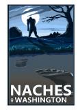 Naches, Washington - Bigfoot Prints