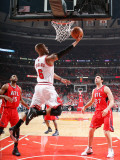 Atlanta Hawks v Chicago Bulls - Game Five, Chicago, IL - MAY 10: Keith Bogans Photographic Print by Scott Cunningham