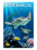 Outer Banks, North Carolina - Sea Turtles Prints