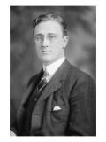 Portrait of Franklin Delano Roosevelt Plakat