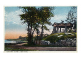 Nahant, Massachusetts - View of the Witch House Posters