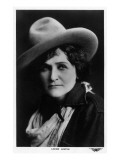 Cowgirl Portrait - Louise Lester Prints