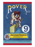 Rover 9 Broom Label Print