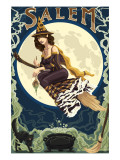 Salem, Massachusetts - Witch Scene Posters by  Lantern Press