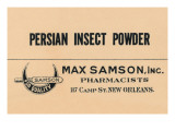 Persian Insect Powder Posters