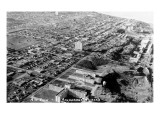 Anchorage, Alaska - Aerial View of City Posters