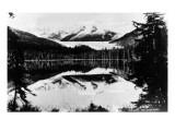 Alaska - Auk Lake View near Juneau Prints by  Lantern Press