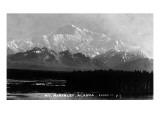 Alaska - View of Mt McKinley Prints by  Lantern Press