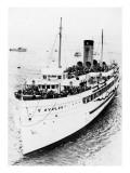 California - Avalon Ship Posters
