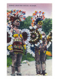 Oklahoma - Shawnee Indian War Dancers Prints by  Lantern Press