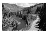 Colorado - Byers Canyon and Colorado River Art by  Lantern Press