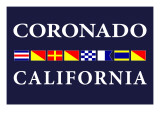Coronado, California - Nautical Flags Posters by  Lantern Press