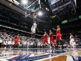 Chicago Bulls v Atlanta Hawks - Game Three, Atlanta, GA - MAY 6: Marvin Williams Photographic Print by Scott Cunningham