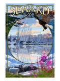Seward, Alaska - Montage Posters by  Lantern Press