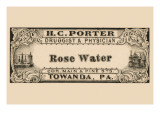 Rose Water Posters