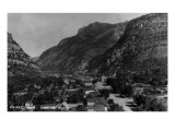 Ouray, Colorado - Northern View from Town Prints