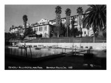 Beverly Hills, California - Beverly Hills Hotel and Pool Prints by  Lantern Press