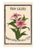 Two Lilies By Matsui Prints