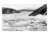 Alaska - View of Taku Glacier Poster by  Lantern Press