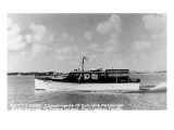 Port Isabel, Texas - Sullivan's Passenger Boat Betty Rose Prints by  Lantern Press