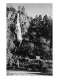 Idaho Springs, Colorado - Old Waterwheel and Waterfall Posters