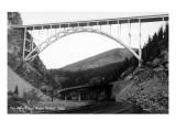 Colorado - New Eagle River Bridge near Red Cliff Kunstdrucke