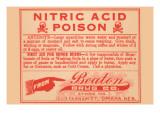 Nitric Acid Posters
