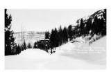 Antonito, Colorado - Cumbres Pass Hwy Spring Opening Prints by  Lantern Press