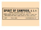 Spirit of Camphor Print