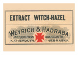 Extract Witch - Hazel Print