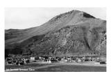 Hot Sulphur Springs, Colorado - Panoramic View of Town Prints by  Lantern Press