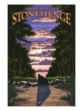 America&#39;s Stonehenge, New Hampshire - Sunrise Posters