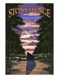 America's Stonehenge, New Hampshire - Sunrise Prints by  Lantern Press