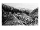 Alaska - View of Dead Horse Gulch along White Pass and Yukon Route Prints by  Lantern Press