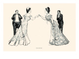 Rival Beauties Prints by Charles Dana Gibson