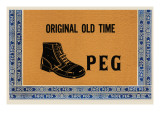 Original Old Time Peg Prints