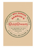 Samson's Cold Cream Poster