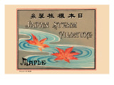 Japan Steam Filature - Maple Print