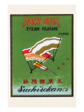 Raw Silk Steam Filature Prints