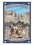Mount Rushmore National Memorial, SD Posters