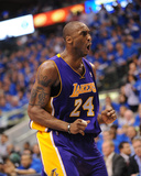 Los Angeles Lakers v Dallas Mavericks - Game Three, Dallas, TX - MAY 6: Kobe Bryant Photographic Print by Noah Graham