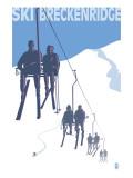 Breckenridge, Colorado Ski Lift Posters par  Lantern Press