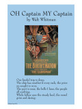 Oh Captain, My Captain, Poster