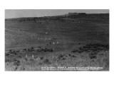 Montana - Custer Battlefield National Monument Prints by  Lantern Press