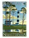 Bodie Island Lighthouse - Outer Banks, North Carolina Posters