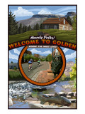 Golden, Colorado Town Scenes Posters by  Lantern Press