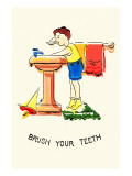 Brush Your Teeth Prints