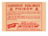 Corrosive Sublimate - Poison Art